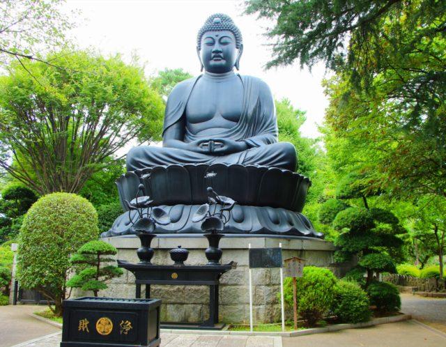 日本で4番目に大きい大仏?板橋十景にも選ばれている乗蓮寺ってこんなところ!